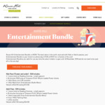 [NSW] Rouse Hill Town Center - Entertainment Bundle $35 Adults and $30 Kids