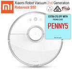 Xiaomi Roborock S50 Robot Vacuum Cleaner 2nd Gen feat. Sweep & Mop (AU Version) $497.80 Delivered @ GBD-Online eBay