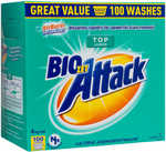 Biozet Attack Ultra Concentrate Top Loader 4 kg | Biozet Attack Front & Top Loader 4kg - Both $15 (Was $28) @ Big W