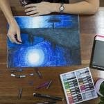 Ironlak Artist Oil Pastels 24 Pack Multicoloured - $3 @ Spotlight