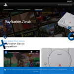 Win 1 of 3 PlayStation Classic Consoles Worth $149.99 from Sony