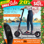 Bullet XCT 85 Electric Scooter $431.30 Free Delivery + Bonus Gift Mi Fitness Band @ Mytopia eBay