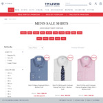 5 Shirts for $134.10 Delivered @ T.M.Lewin