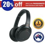 Sony WH-1000XM3 Wireless Noise Cancelling Headphones $318.08 Delivered @ Shopping Square eBay