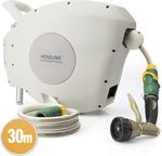 Hoselink 30m Retractable Hose Reel (Bonus Premium Ned Kelly Starter Kit) - $217.55 Delivered @ Hoselink