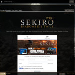 Win Your Choice of Xbox One X or PS4 Pro Console with a Copy of Sekiro or 1 of 4 Runner up copies of Sekiro from Fextralife