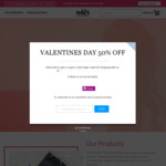 Valentines Day 50% off All Hair Straighteners $49.95 & Free Shipping Aus Wide @ Nav's Hair