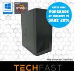 "R3 2300X RX570 4GB PC: $439.20 / + 24"" Monitor: $511.20 // R5 2600 RX 580 8GB + 27"" Monitor: $751.20 Delivered @ TechFast eBay"