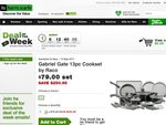 Gabriel Gate 13pc Cookset by Raco $79.00 Shipped