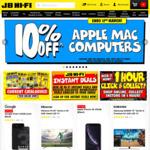 10% off Apple Mac Computers, 20% off LG Super UHD TV's + More @ JB Hi-Fi