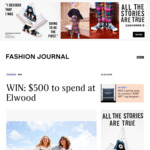 Win a $500 Elwood Voucher from Fashion Journal