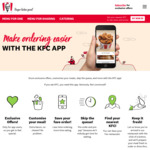 9 Pieces for $11.95 @ KFC App Build Your Own Bucket (Must Select at Least 3 Per Order)