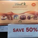 [VIC] 50% off Lindt Pralines Nougat $12.48 (Was $24.95) @ David Jones Malvern Central
