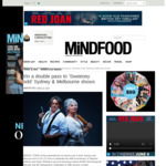 Win 1 of 2 Double Passes to 'Sweeney Todd' Sydney & Melbourne Shows Worth $200 from MiNDFOOD
