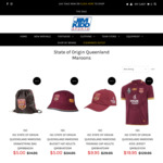 All Official Licensed State of Origin Queensland Maroons Jersey $19.95 (Save Up to $140) + $15 Shipping @ Jim Kidd Sports