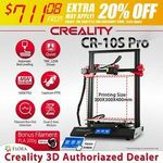 Creality CR-10S Pro 3D Printer $711.08 Delivered @ Floralivings eBay