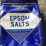 Essential Health Epsom Salt 3KG at $9.99  @ ALDI Australia