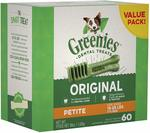[Amazon Prime] Greenies Original Dental Dog Treat Value Packs (All Sizes) $34.95 Delivered via Amazon AU
