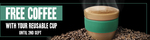 Free Coffee with Any Reusable Cup 6/8-2/9 at 7-Eleven