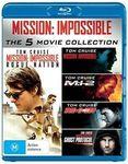 Mission Impossible 1-5 Blu-Ray Boxset $14.20 Delivered @ Zoom Online AU eBay or $14.95 Delivered via Kogan