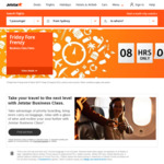 Jetstar O/W Business Sale (up to $60 Less with Jetstar Club): Mel to Bali $549 / Mel to Ho Chi Minh City $549 & More