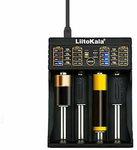 Liitokala Lii-402 Micro USB DC 5V 4Slots  Smart Battery Charger $8.35 USD (~AU $12.38) Shipped @ Banggood