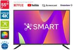 "Kogan 55"" Smart HDR 4K LED TV (Series 8 MU8010)  $399.99 + Delivery @ Kogan"