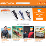 $59 Nike, ASICS and adidas Shoes (in Store Only) @ Anaconda (Adventure Club Membership Required)