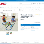 Thomas & Friends TrackMaster 6-in-1 Builder Set $29 (Instore) @ Kmart