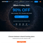 Black Friday Sale - up to 91% off Web Hosting Services From $0.70/month @ Hosting24