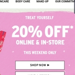 20% off Everything at The Body Shop