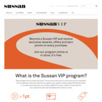 $20 Voucher on Your Anniversary Joining Date of Sussan VIP Club