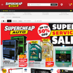 Up to 50% off Super Service Sale @ Supercheap Auto