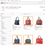 Zapal Handbags - Any 3 for $14.25 + Delivery ($0 with eBay Plus) @ Shopping Square eBay