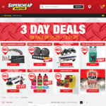 Supercheap Auto 3 Day Deals: 25-45% off 173 Products + Delivery ($0 C&C or $150 Spend)