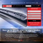 Car Windscreen Wiper Blades $47.20 Delivered (20% off) Refillable and Made in Australia @ Jenok Wiper Blades