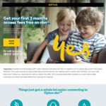 3 Months Free nbn50 for Users Migrating from Optus Cable