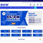 Spend $100 Save $10, Spend $150 Save $20, Spend $200 Save $30 - 3 Days Online Only @ BIG W