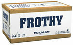 [eBay Plus] Matilda Bay Frothy Beer 24x375ml $39, Beck's 24x330ml $29, Strongbow Pear Cider 24x355ml $29 Delivered @ CUB eBay