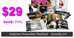 Just $29 -Bring to Life Your Memories.Personally Create a 50 pg 20x28cm  Photo Book