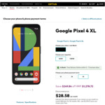 Google Pixel 4XL 64GB $1,278.72 (+ Chosen Plan Fees) When Bundled with a New SIM Only Mobile Plan @ Optus