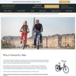 Win a Velectrix Urban Unisex Electric Bike Worth $1,695 from Scenic