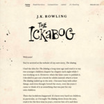 [Free] The Ickabog (political fairytale) published daily By JK Rowling