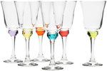 Symphony Prism Loop Wine Glass 6 Piece Set $12 (RRP $40) + Delivery @ Peter's of Kensington