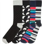 Happy Socks 4pk $9.99 Delivered @ Costco (Membership Required)