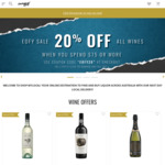20% off All Wines (Min. $75 Spend) @ Shop My Local