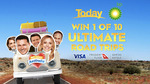 Win 1 of 10 BP Ultimate Road Trip Packs (from 9now)