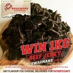 Win 1kg Beef Jerky Valued at $92 by Making an Order from Swagmans