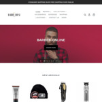 10% off All Brands + Free Shipping with $48 Spend @ Barber House