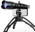 Apexel High Powered 36X Telephoto Lens with Tripod for Phones $62.98 Shipped (10% off) @ Aipai Optic via Amazon AU